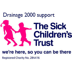 Drainage 2000 Sick Childrens Trust accreditation